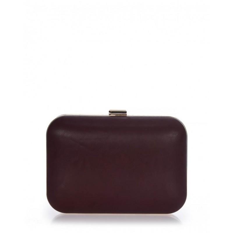 Clutch bag μπορντό Veta 4002-2 Βραδινά 4002-2