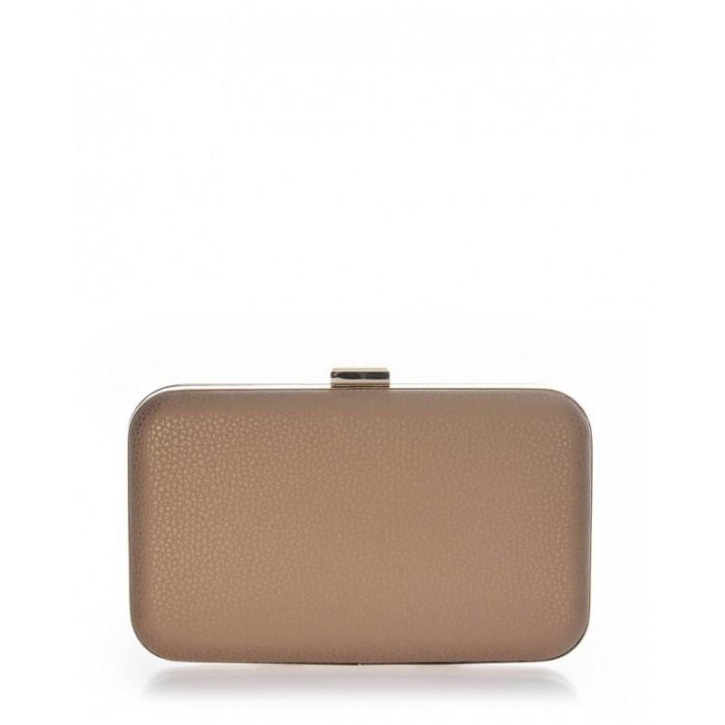 Clutch bag χρυσό ματ Veta 4003-56 Βραδινά 4003-56