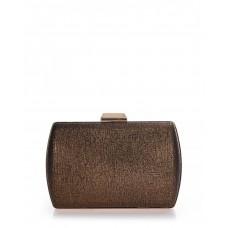 Clutch bag μπρονζέ γυαλιστερό Veta 4012-58