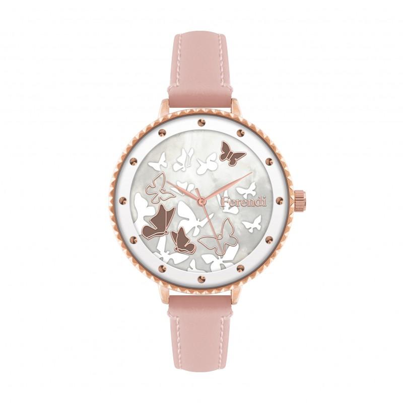 Ferendi Ρολόι Jollity 7460R-55 ροζ