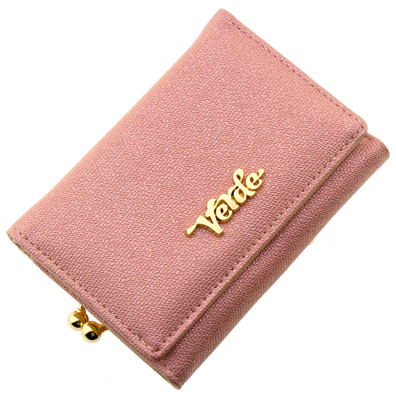 eb77720b41 Πορτοφόλι γυναικείο VERDE ροζ συνθετικό 18-952p