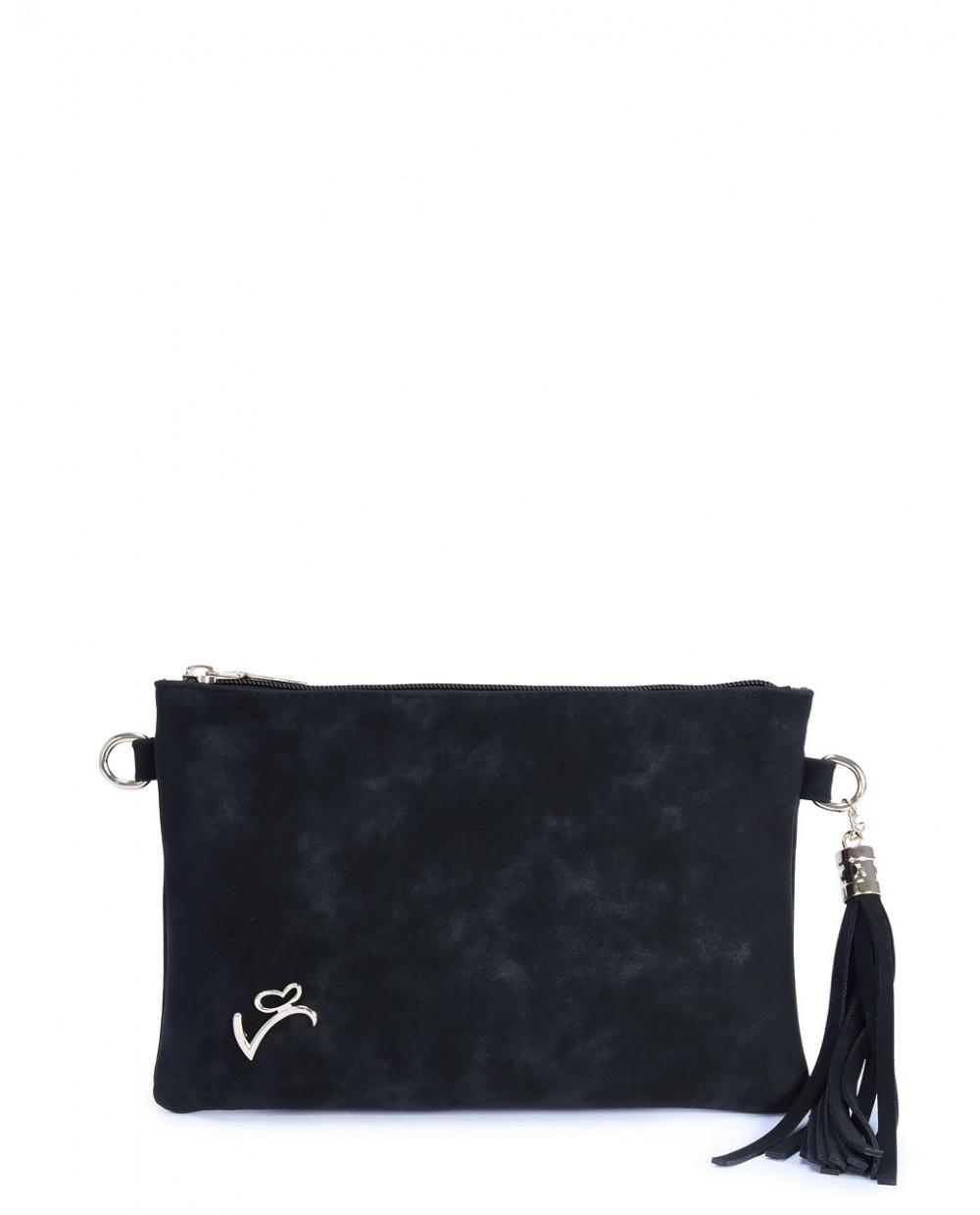 b372baa45f Touch-accessories Τσάντα χιαστή μαύρη VETA δερματίνη 999-1